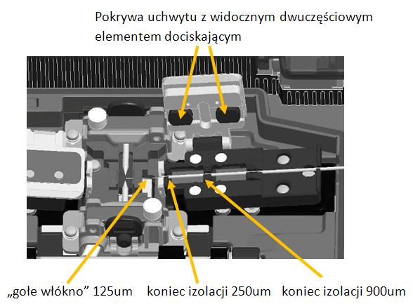 Holder spawarki światłowodowej FITEL S178/S153